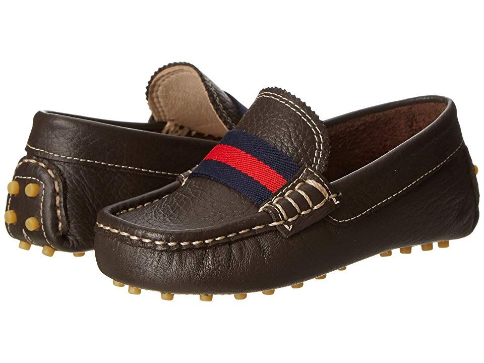 Elephantito Club Loafer Toddler Brown