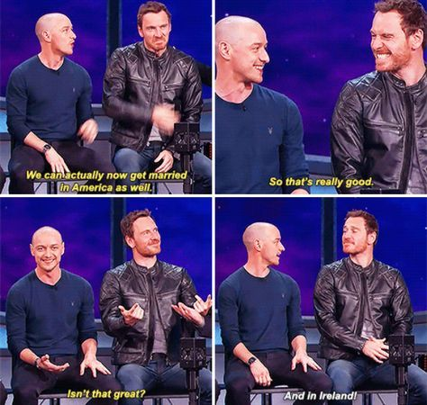 19 Times McAvoy And Fassbender Were The Definition Of ...