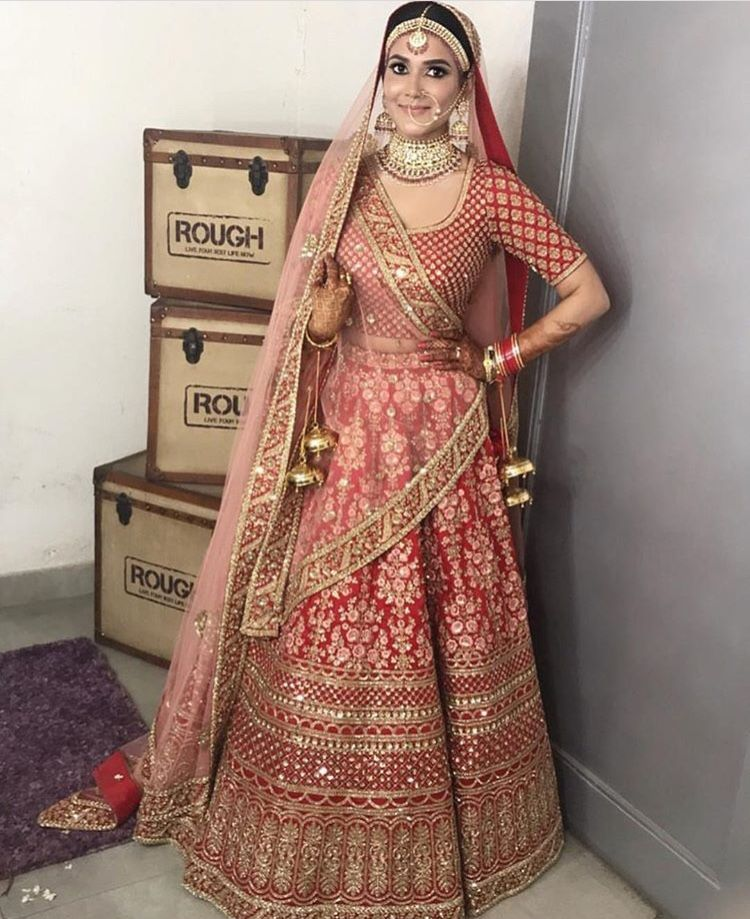fb87ef6086 custom made bridal lehenga Inquiries➡ nivetasfashion@gmail.com whatsapp + 917696747289 Nivetas Design Studio We ship worldwide delivery world wide  bridal ...
