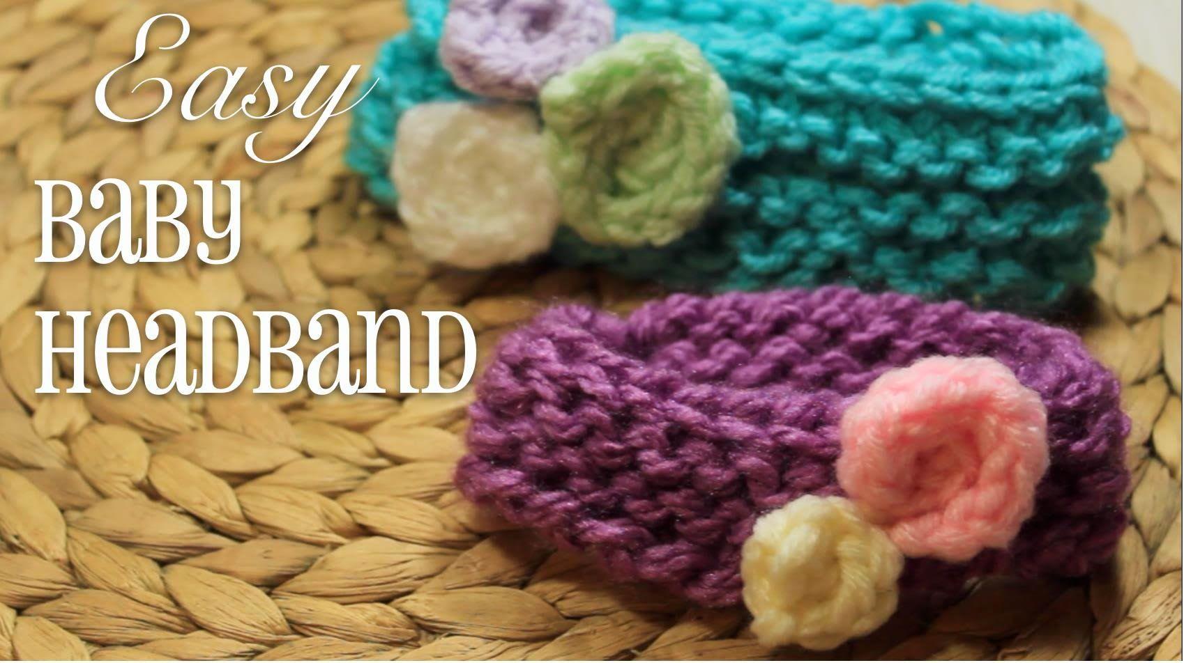 Loom Knitting: EASY Baby Headband!   Loom Knitting   Pinterest ...