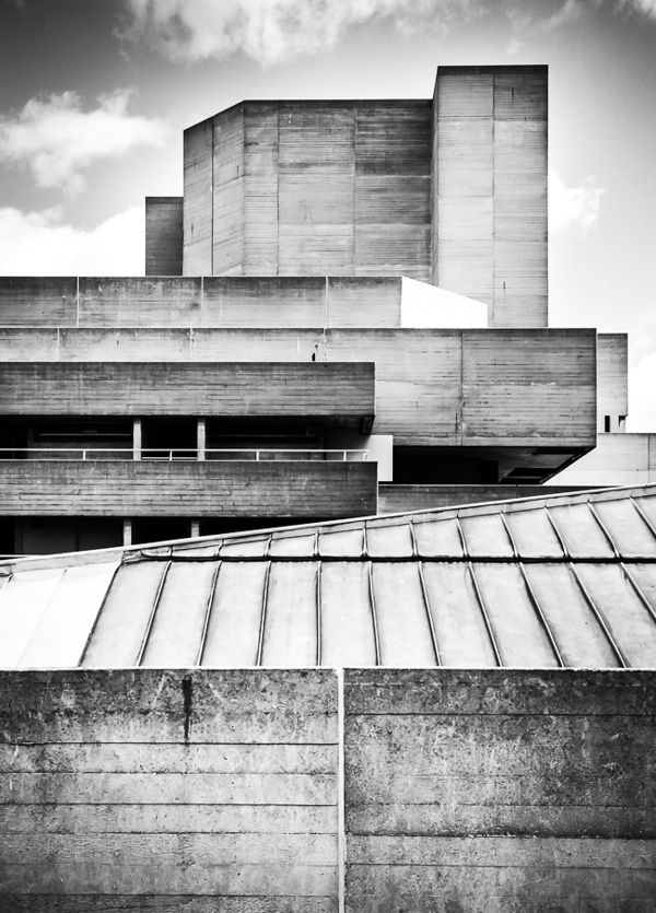National Theatre London by usrdck , via Behance