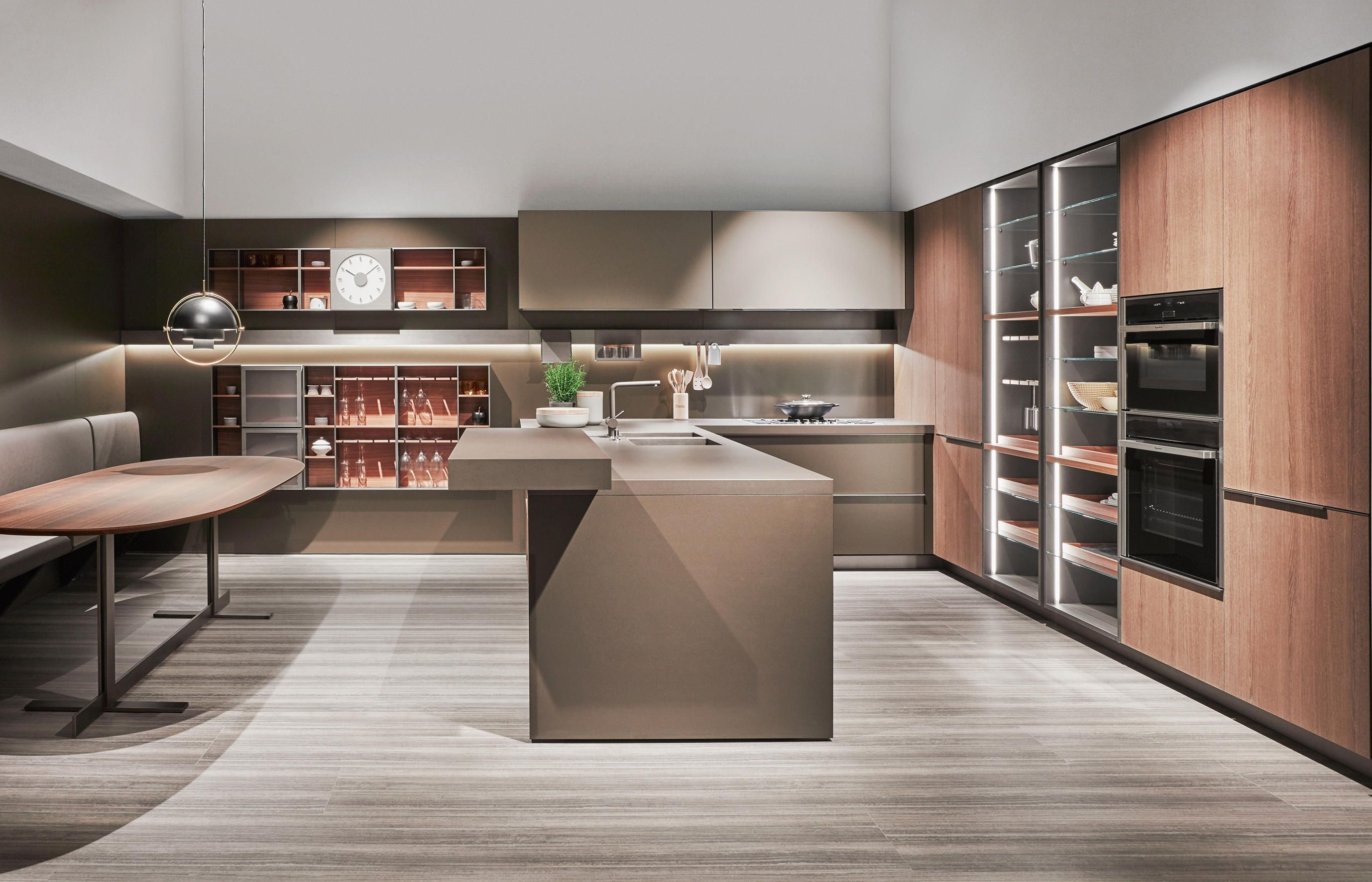 INDADA Fitted kitchens from Dada Architonic Italian