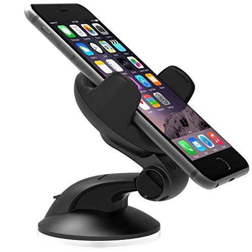 iOttie Easy Flex 3 Car Mount Holder for iPhone 6 (4.7) /5s/5c/4s, Samsung Galaxy S4/S3 - Retail Packaging - Black - http://www.rekomande.com/iottie-easy-flex-3-car-mount-holder-for-iphone-6-4-7-5s5c4s-samsung-galaxy-s4s3-retail-packaging-black/