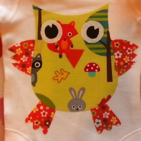 Having a hoot making this onesie.