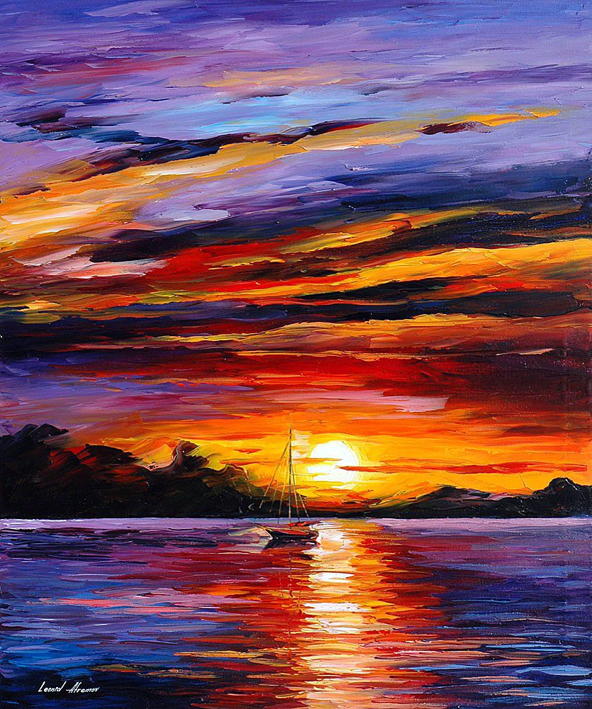 Caribbean Islands: Oil Painting On Canvas By L.Afremov