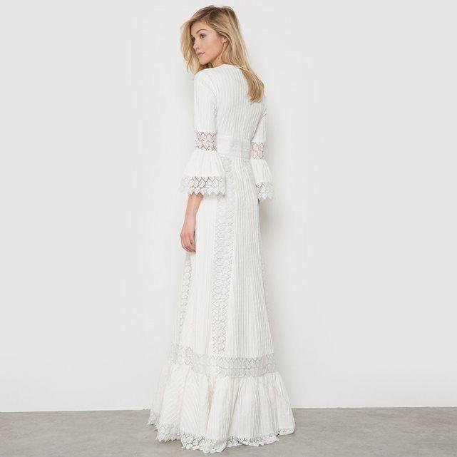 Robe de cocktail blanc la redoute