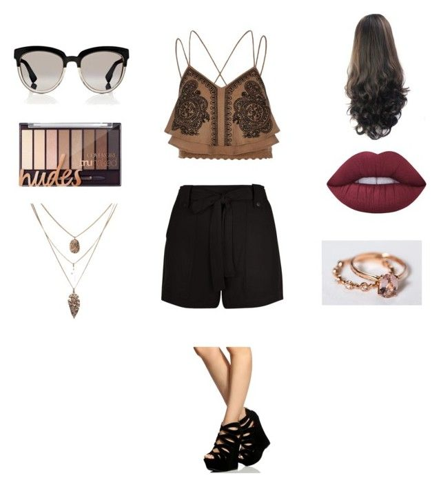 """Untitled #237"" by heather2003 on Polyvore featuring River Island, New Look, Christian Dior and Lime Crime"