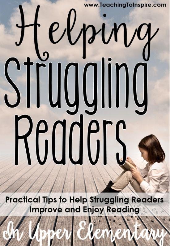 Helping Struggling Readers In Upper Elementary 4th Grade