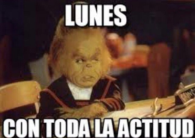 Pin De Valeria En Dias De La Semana Frases Memes Grinch Chistes Chiste Grafico