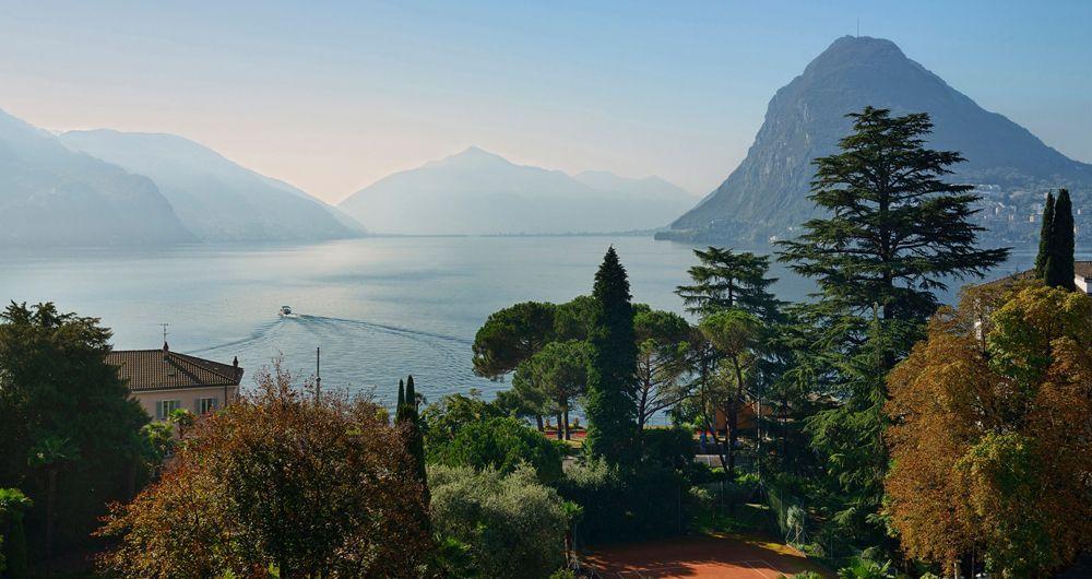 Unfassbar schön: Die Aussicht aus den Zimmern des Grand Hotels