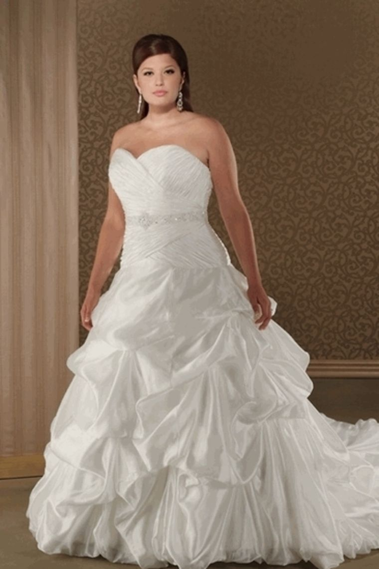 Wedding dresses for older brides plus size  Shop Hot Selling Fantastic Ball Gown Sweetheart Taffeta Plus Size