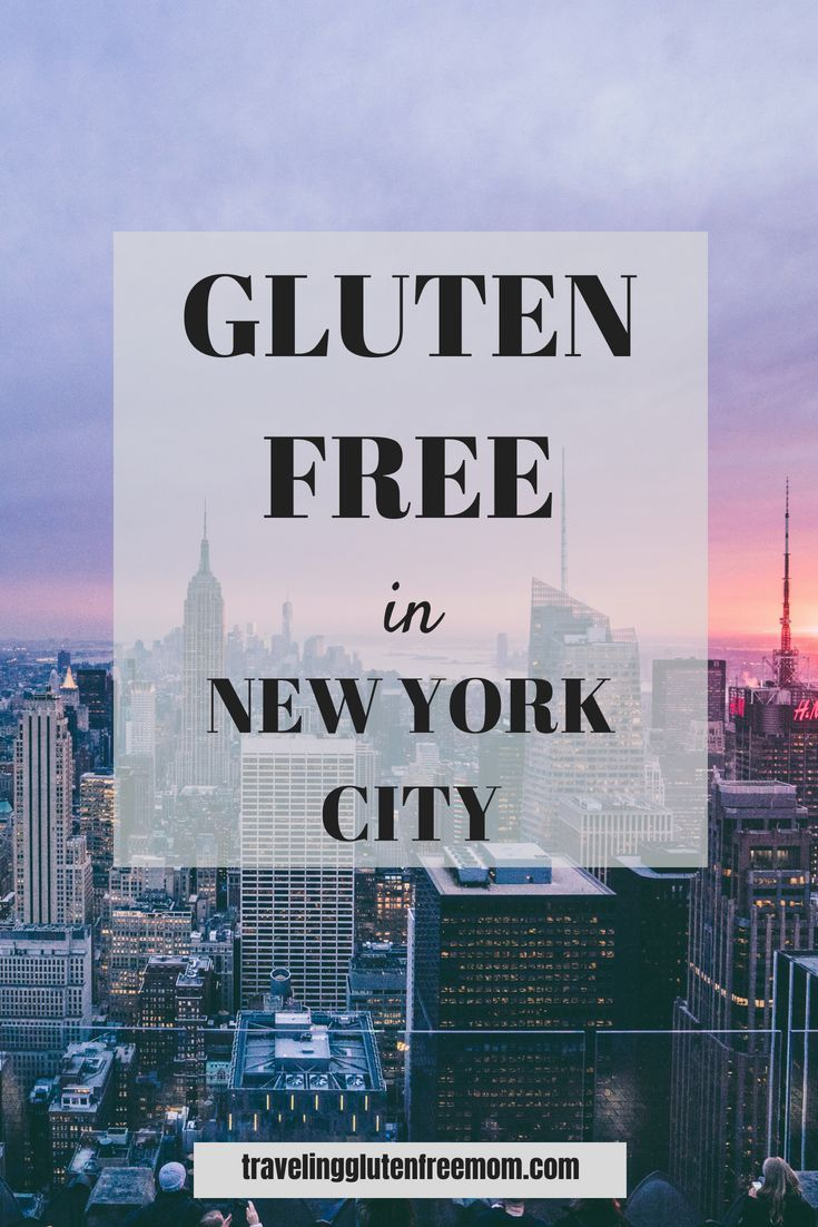 Gluten Free In New York City