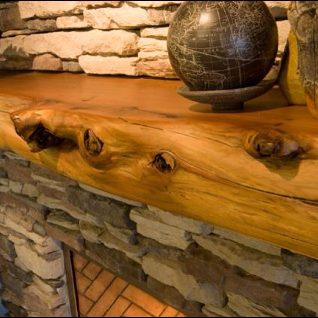 Rustic Mantel Décor That Will Adorn Your Bored To Death: Fireplace Mantel, Mantels And Mantle