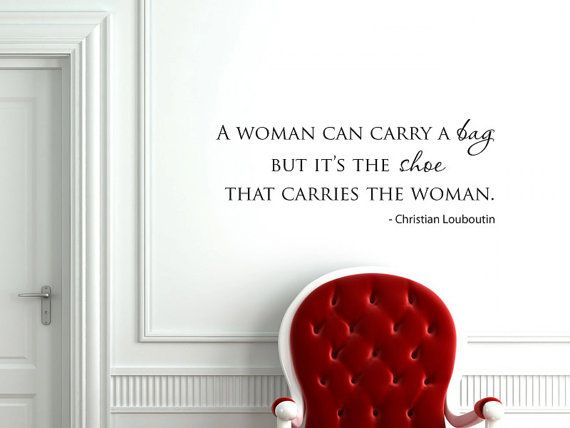 A Woman Can Carry Bag Fashion Quote Vinyl By Grabersgraphics 25 00