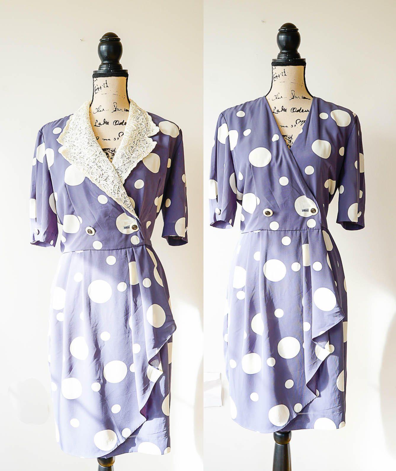 Vintage Wrap Dress From Japan Size M 1980s Dress Japanese Etsy Vintage Wrap Dress Wrap Dress Vintage Dresses [ 1591 x 1337 Pixel ]