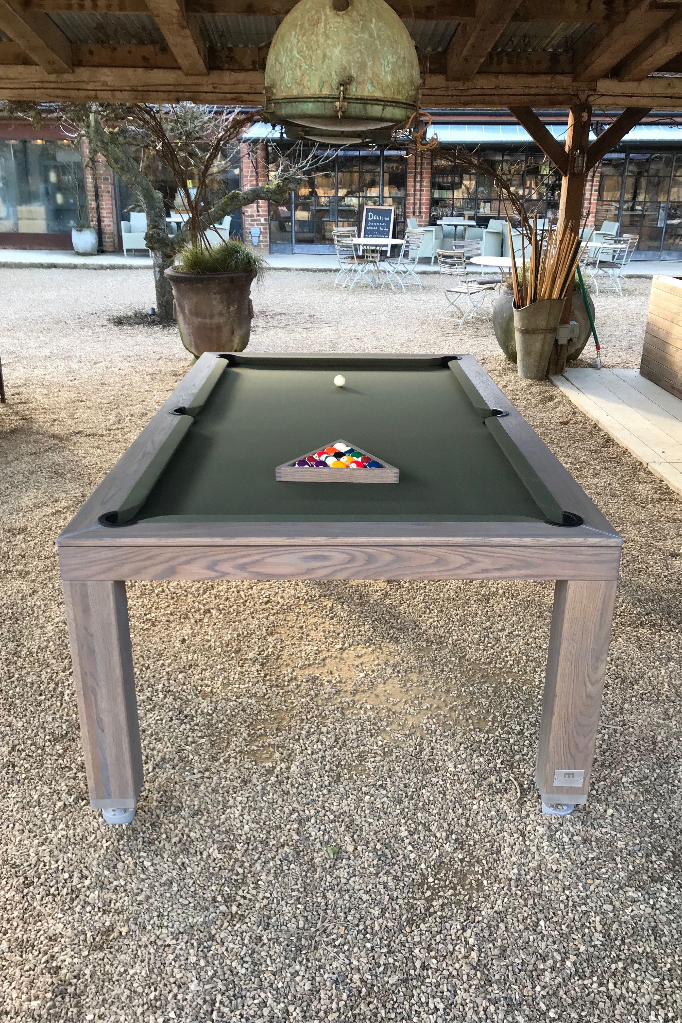 Outdoor Pool Table En 2020 Mesa De Billar Billares Estante De Madera Flotante