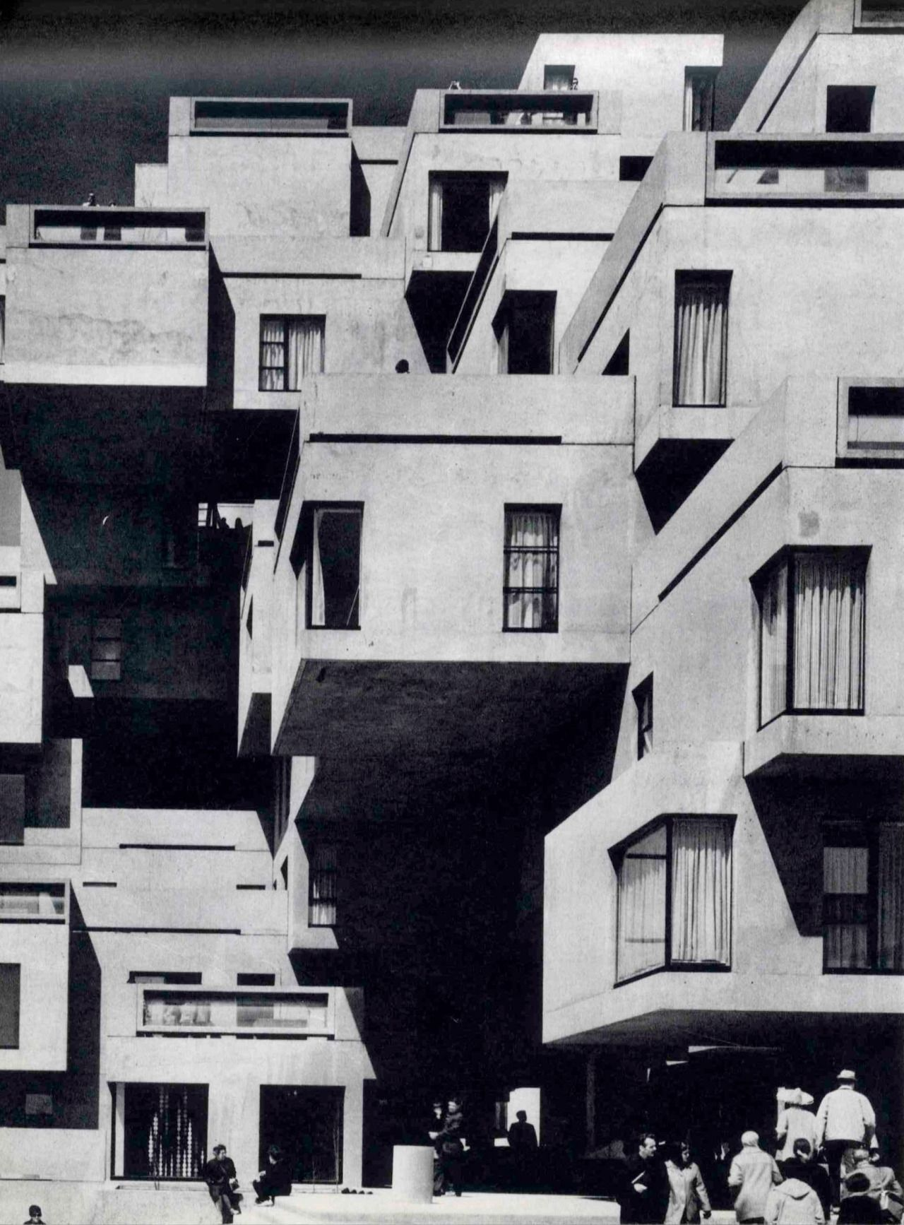 Moshe Safdie Habitat 67 Montreal