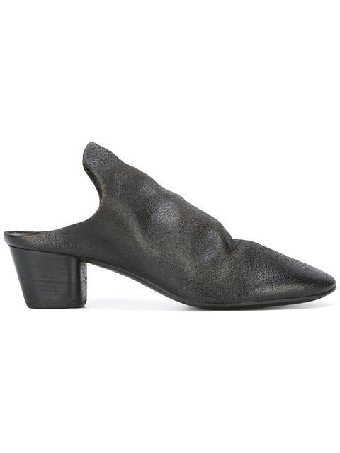 MARSÈLL 아몬드 토 뮬. #marsèll #shoes #뮬