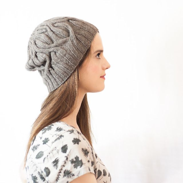 Spinster Slouch | Knitbug | KNITTING | Pinterest
