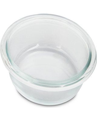 Bowlmates By Petco Large Glass Bowl Insert 7 Cup Large See