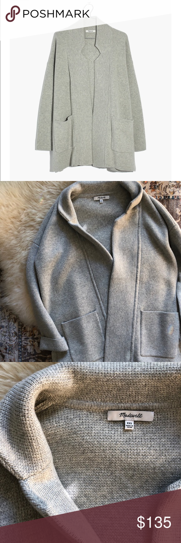 Deleting Today Madewell Spencer Sweater Coat My Posh Picks