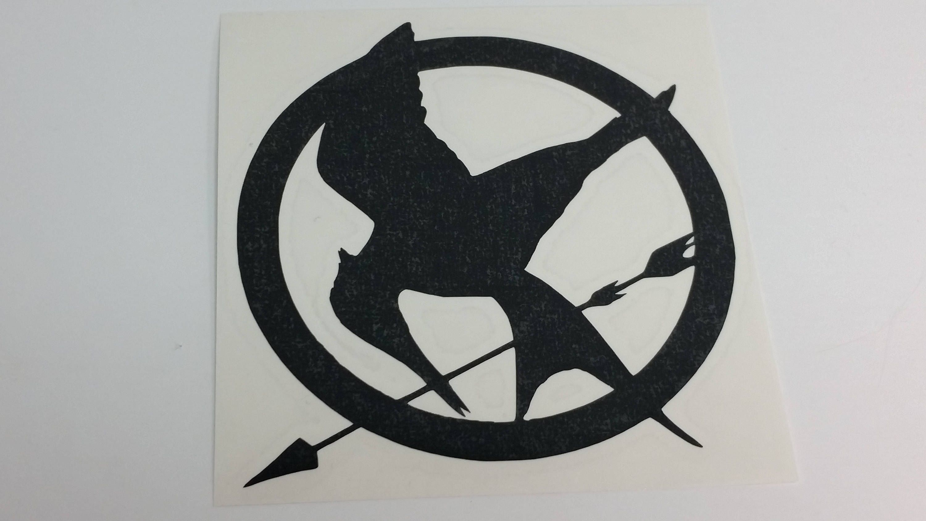 Hunger Games Mockingjay Vinyl Decal By Vault711designs On