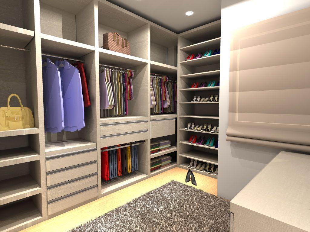 Closets Planejados 28 Modelos lindos Closets planejados