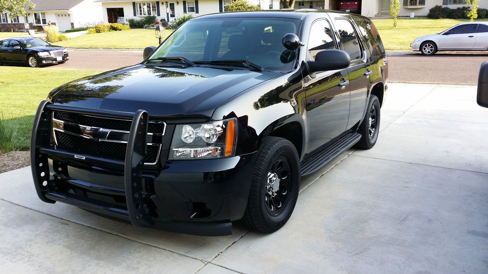 2009 Chevy Tahoe Police Pursuit Vehicle Chevy Tahoe Police