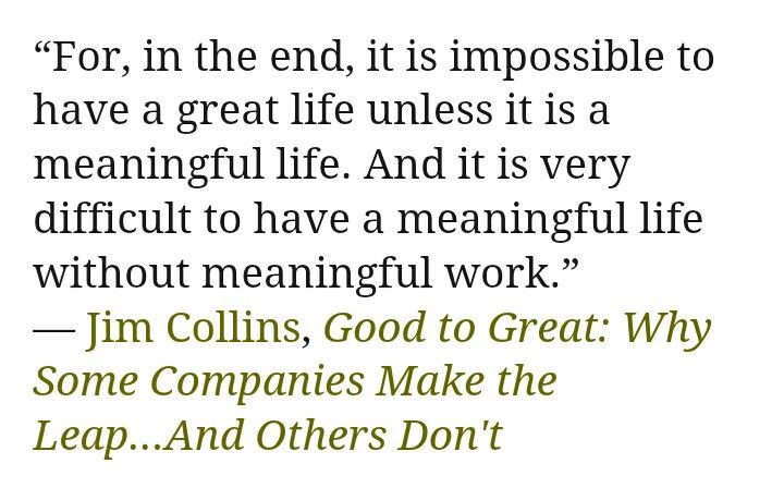 "Good To Great Quotes Custom A Memorable Quote From ""good To Great""jim Collins  Personal"