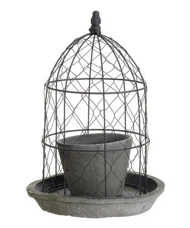 Another great find on #zulily! Wire Dome Decorative Planter #zulilyfinds