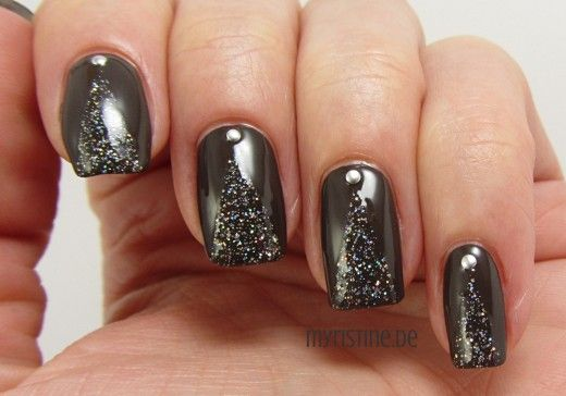Sparkling Brown Nails mit How Great Is Your Dane? (OPI, Nordic Collection)