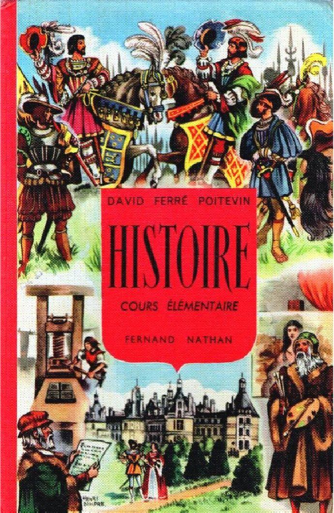 Histoire De France Histoire Ce1 Ce2 01 David Ferre Poitevin