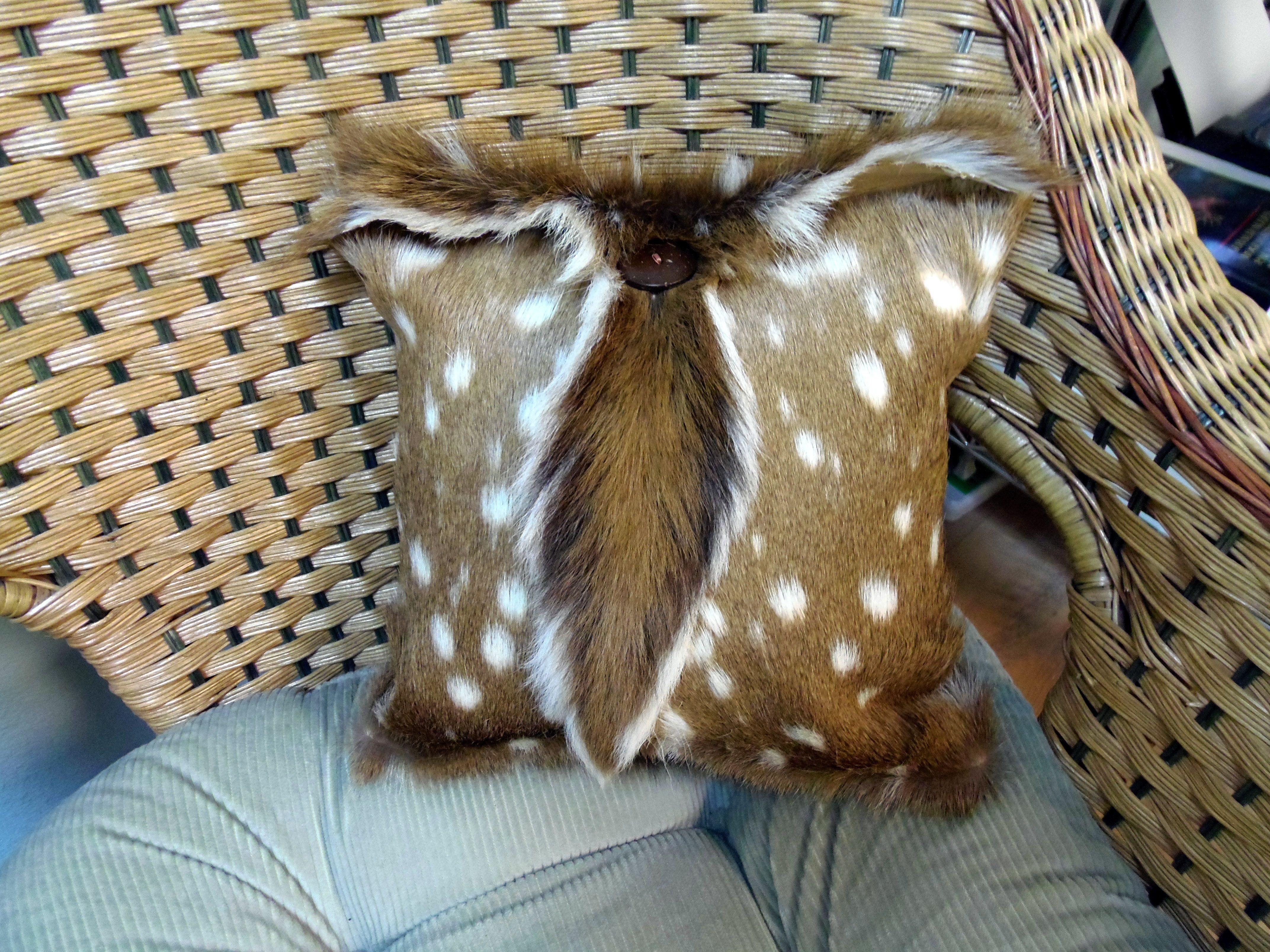 deer skin pillows - Google Search | Deer :) | Pinterest ...