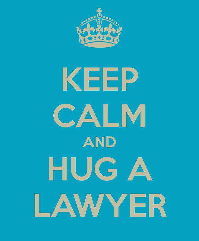 We've got a few lawyers that deserve lots of hugs ~