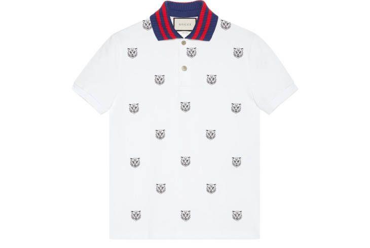 Tiger Polo shirt embroidery logo