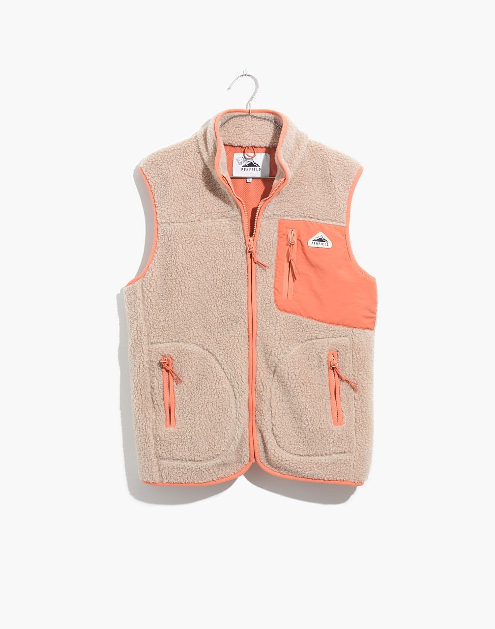 X Penfield 174 Lucan Fleece Vest Fleece Vest Vest Jackets