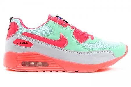 Nike Airmax Su Yesili Gri Pembe Nike Ayakkabilar Ve Gri