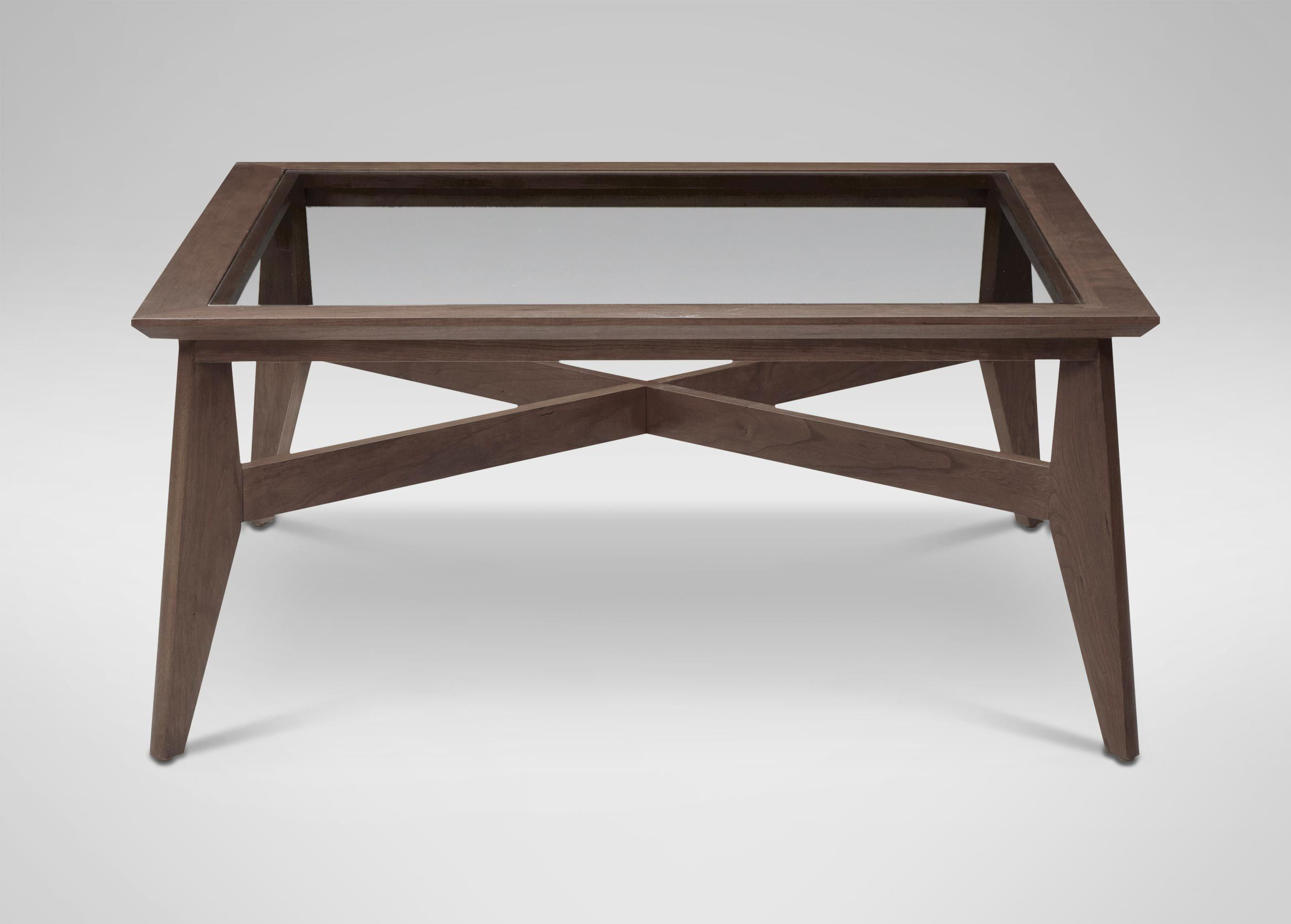 Trevor Glass Top Coffee Table Coffee Tables Small Coffee Table