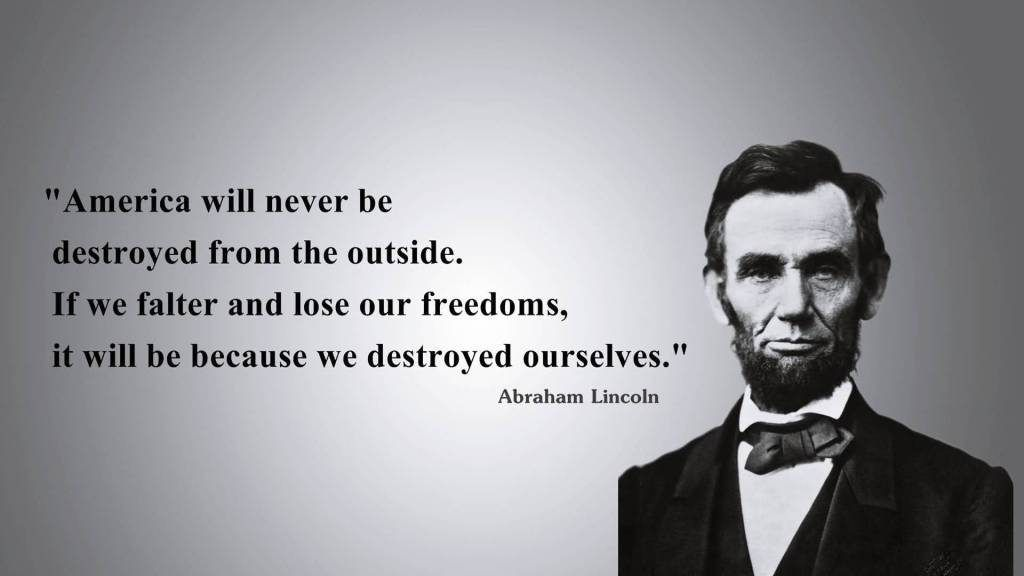 Abraham Lincoln A Man Who Believed In The True Meaning Of Liberty