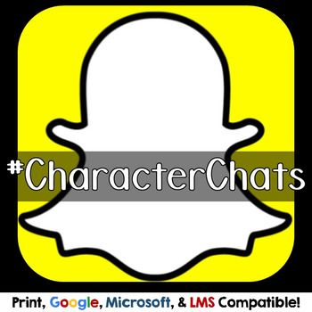 Social Media Stories Character Profile and Elements of Literature - copy blueprint events snapchat