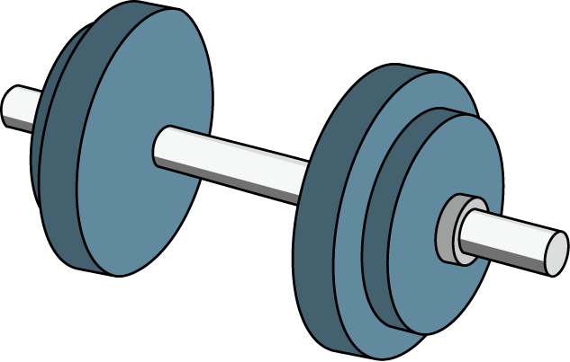 Related Image No Equipment Workout Clip Art Dumbbell