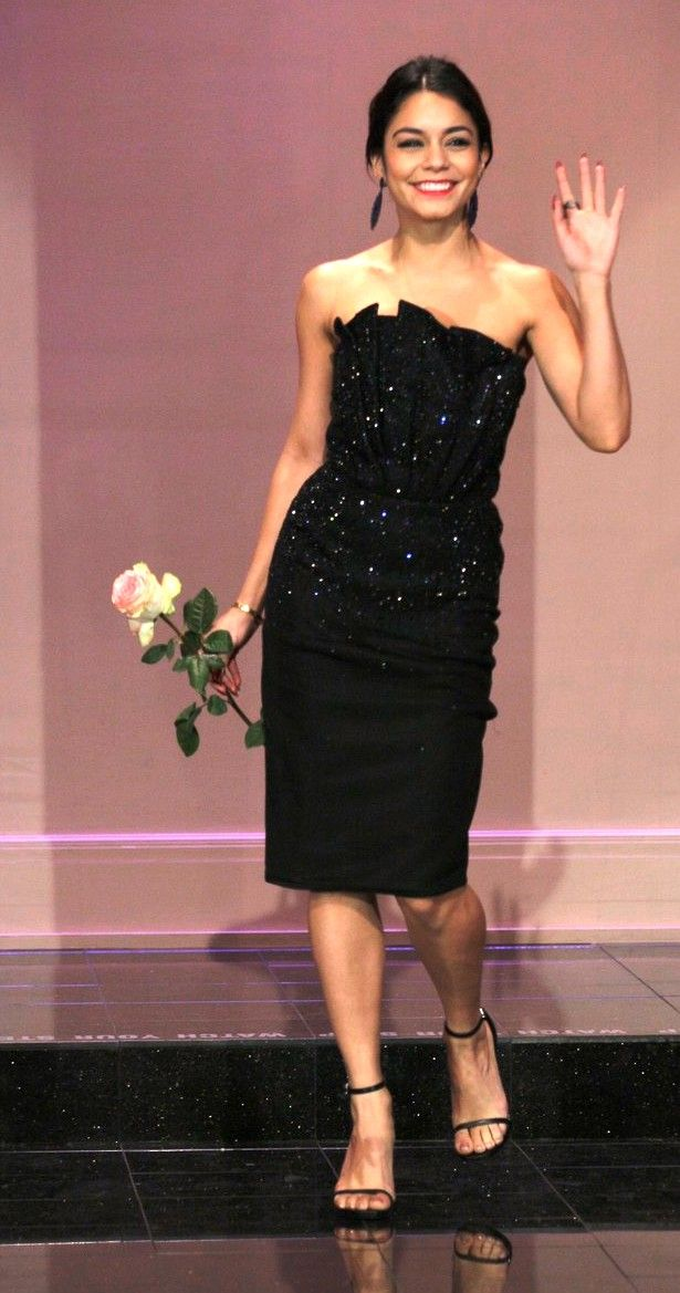 Vanessa Hudgens no programa The Tonight Show (15/01/14)
