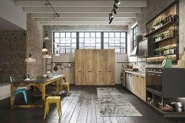Loft: Refined Kitchen Brings Industrial Richness To Urban Interiors | Decor Advisor