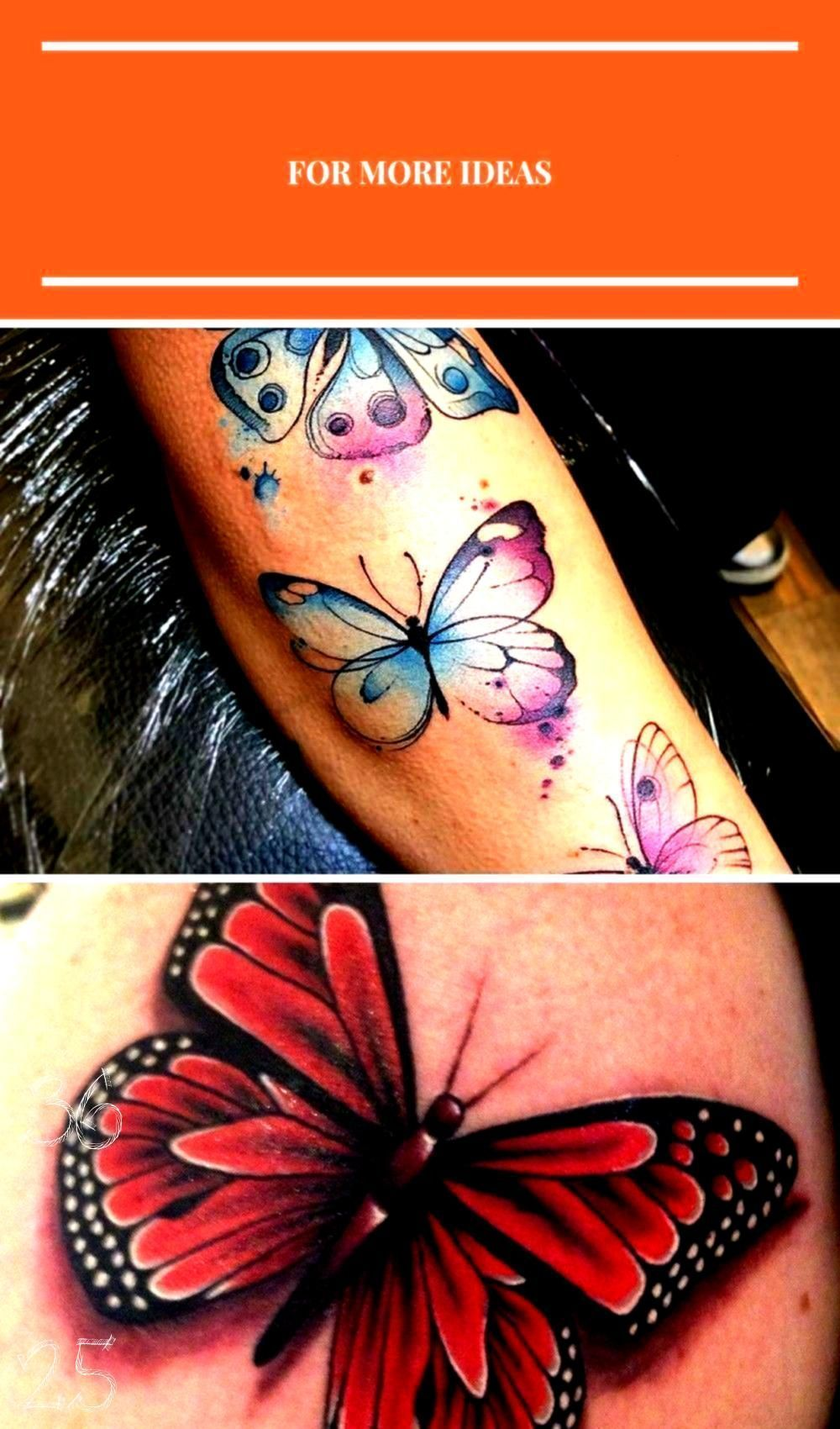 Photo of #halfbutterfly #beautiful #butterfly #tattoo #half #page