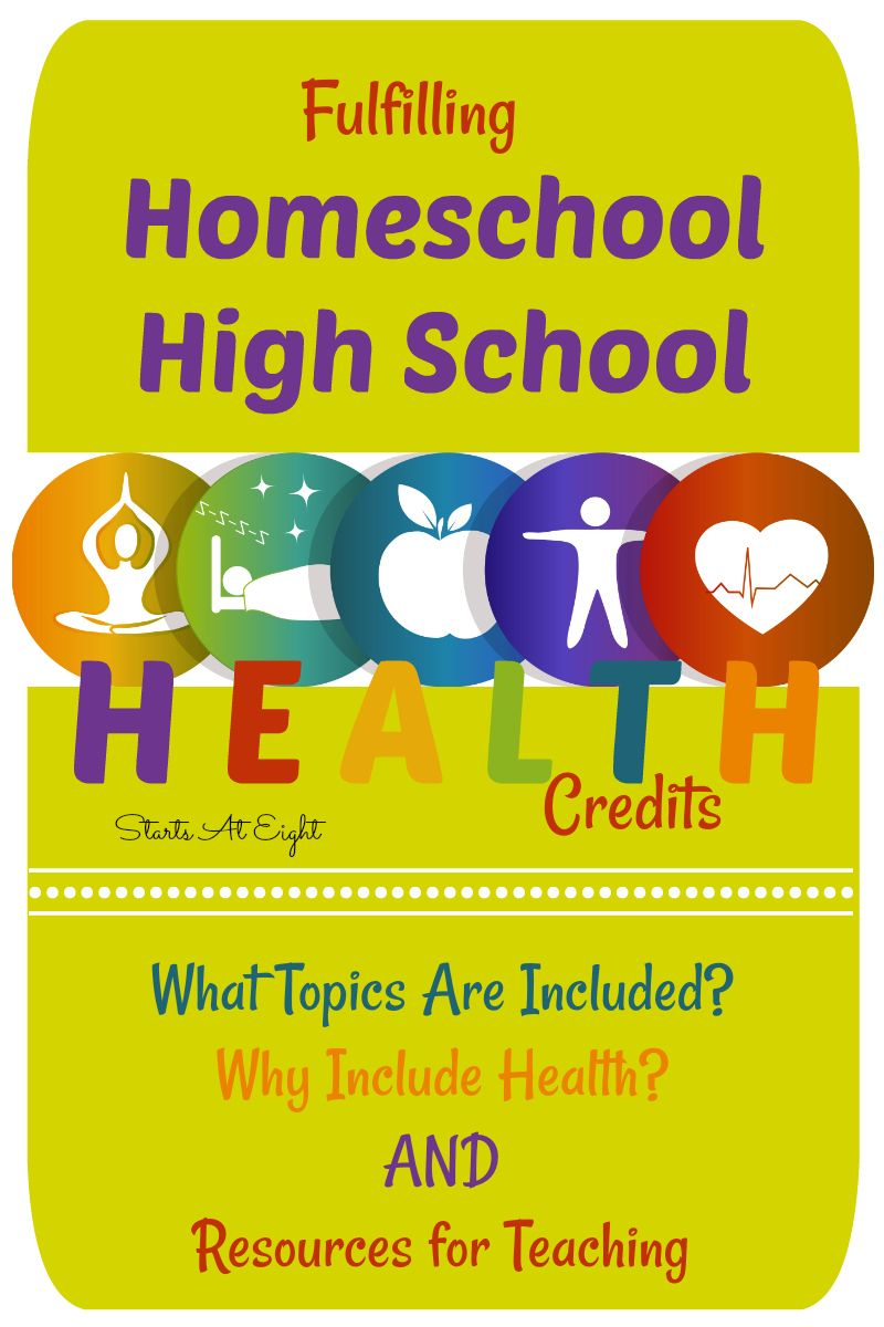 Fulfilling Homeschool High School Health Credits is part of High school health, High school curriculum, School health, Homeschool high school, Teaching high school, Homeschool curriculum - Fulfilling Homeschool High School Health Credits is a how to guide including why to teach high school health, what topics are covered, and an extensive list of both secular and faith based homeschool high school health options