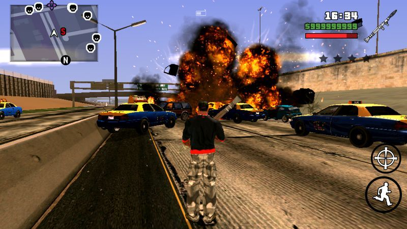 gta san andreas android mod lite
