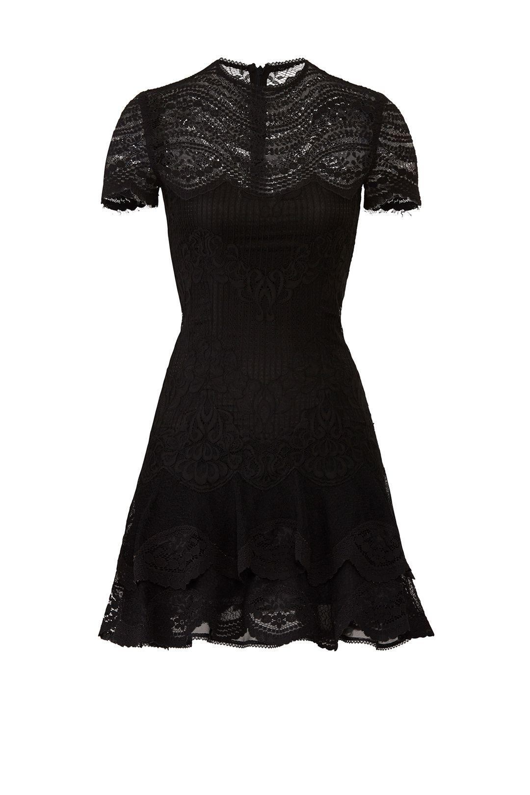 cb819d1c831a6 Mixed Lace Mini Dress by Jonathan Simkhai for  105