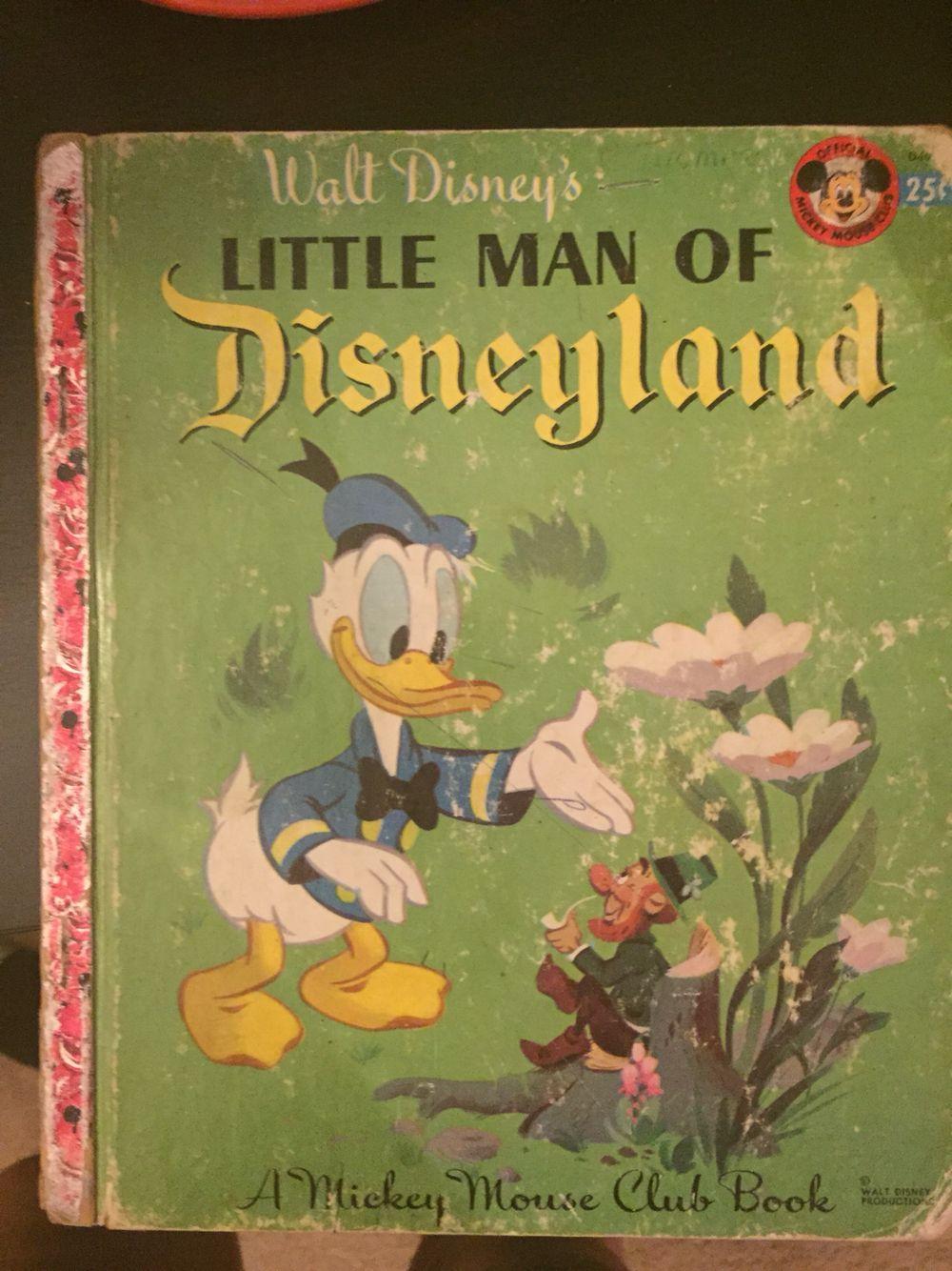 Walt Disney's Little man of Disneyland