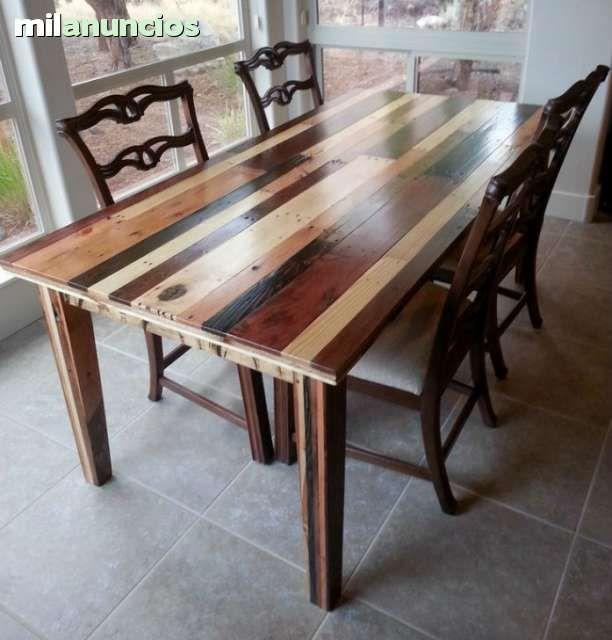 Mil anuncios com madera reciclada muebles madera for Muebles segunda mano badalona