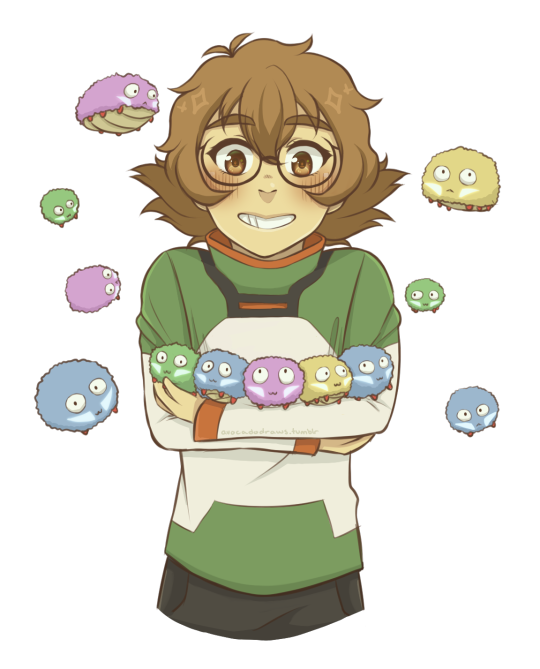 By Avocadodraws On Tumblr  Pidge And Her Space Alien -6707